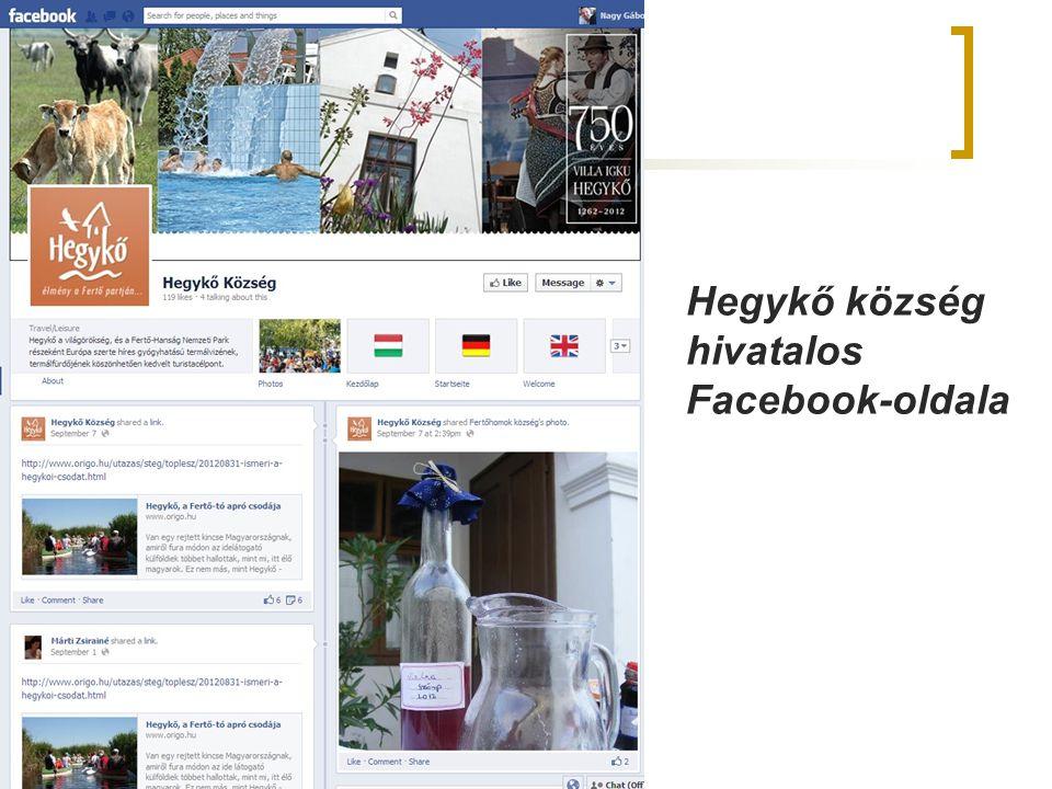 Hegykő község hivatalos Facebook-oldala