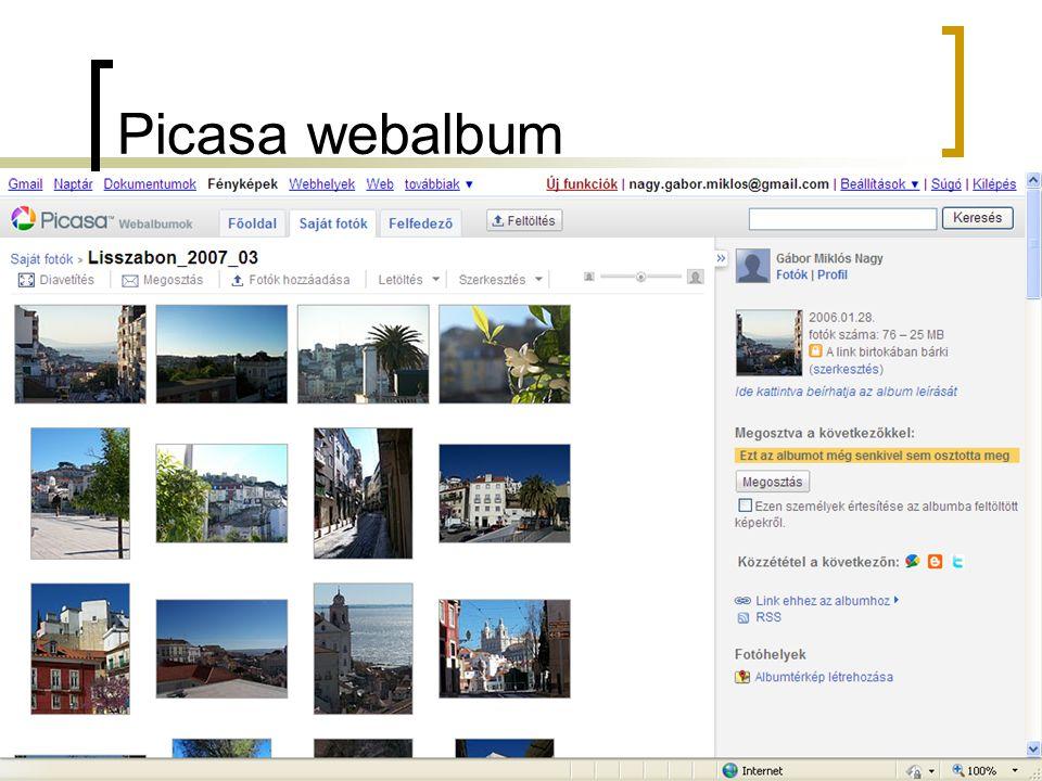 Picasa webalbum