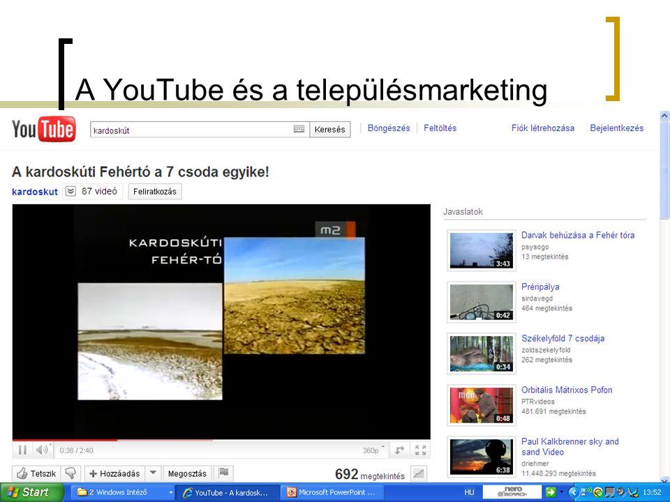 A YouTube és a településmarketing
