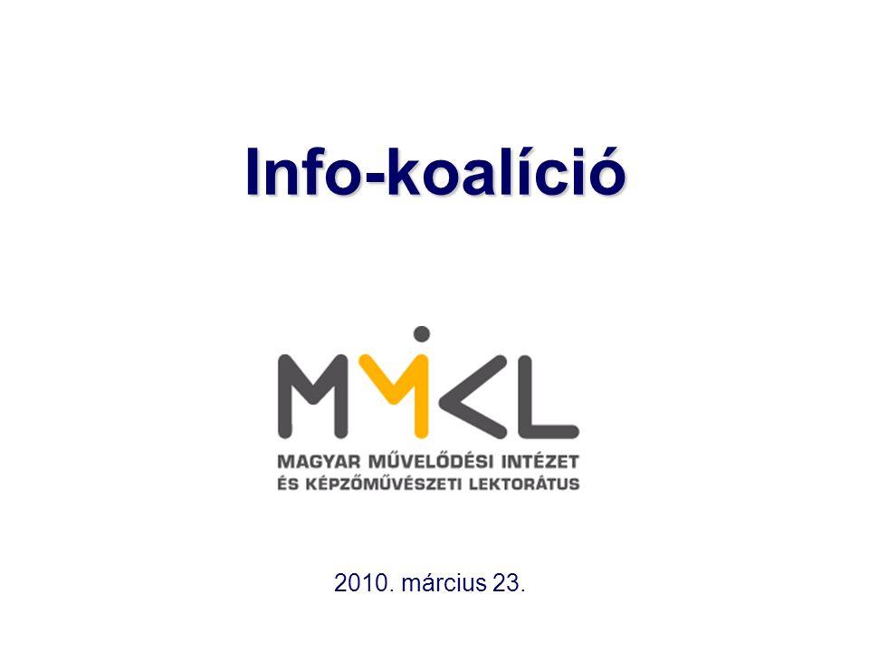 Info-koalíció 2010. március 23.