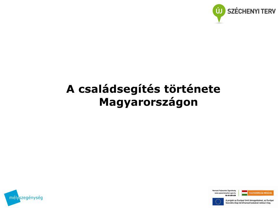 A családsegítés története Magyarországon