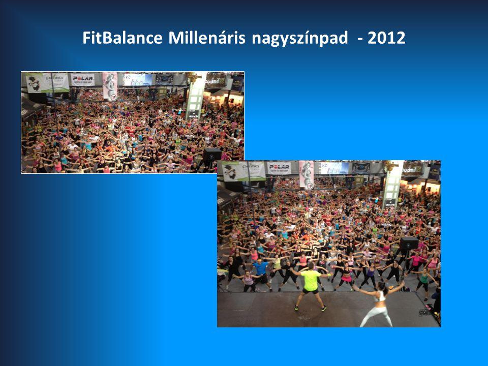 FitBalance Millenáris nagyszínpad - 2012