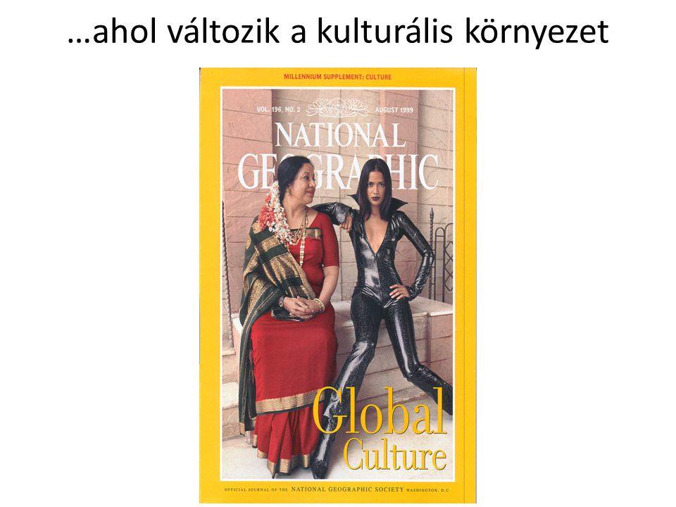 …ahol változik a kulturális környezet