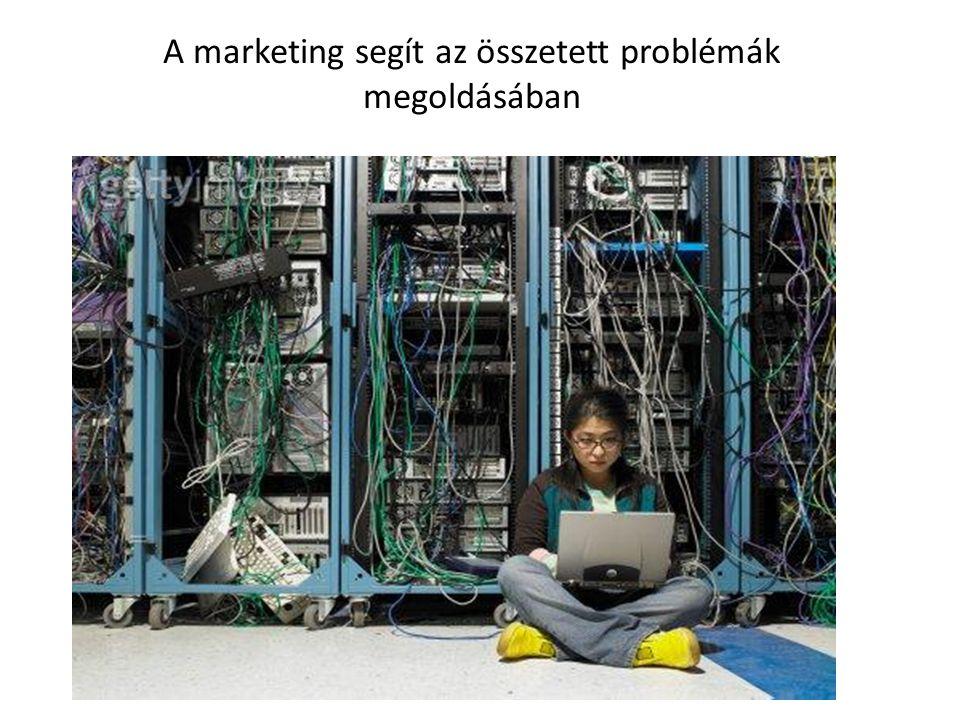 A marketing segít az összetett problémák megoldásában