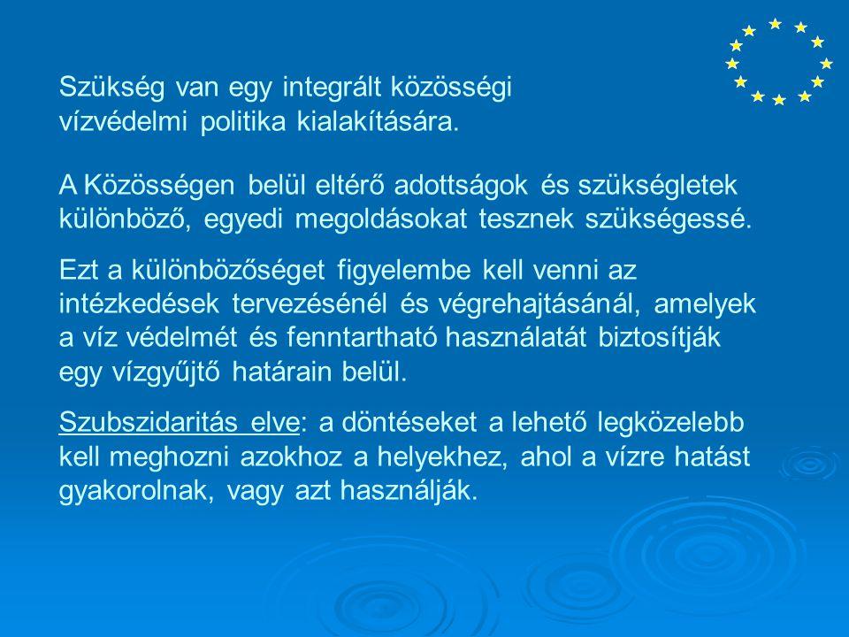 Az irányelv sikere a közösségi, a tagállami és a helyi szintű szoros együttműködéstől és összehangolt intézkedésektől, valamint legalább ennyire az információktól, a konzultációktól és a nyilvánosság, a vízhasználók bevonásától függ.