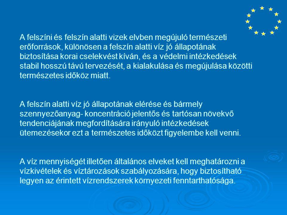 ELLENŐRZÉS A tagállamok megtesznek minden szükséges intézkedést az emberi fogyasztásra szánt víz minőségének rendszeres ellenőrzésének biztosítására, hogy meggyőződjenek arról, hogy a fogyasztók rendelkezésére álló víz megfelel-e az irányelv követelményeinek.