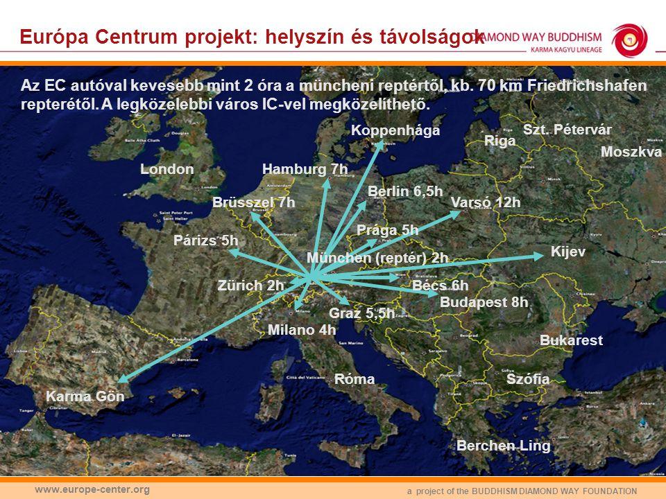 a project of the BUDDHISM DIAMOND WAY FOUNDATION www.europe-center.org Európa Centrum: alapok Miért Németországban van az Európa Centrum.