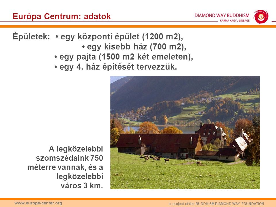 a project of the BUDDHISM DIAMOND WAY FOUNDATION www.europe-center.org Hogyan legyünk naprakészek.