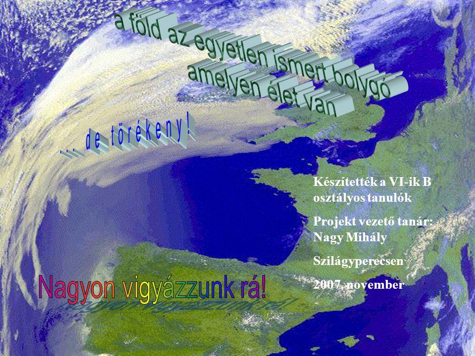  2007 Nagy Mihály FELHÍVÁS.Tégy három lépést a fenntartható világért, most.