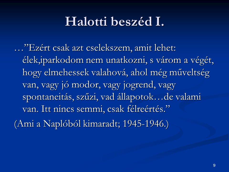 10 Halotti beszéd II.Halotti beszéd II.