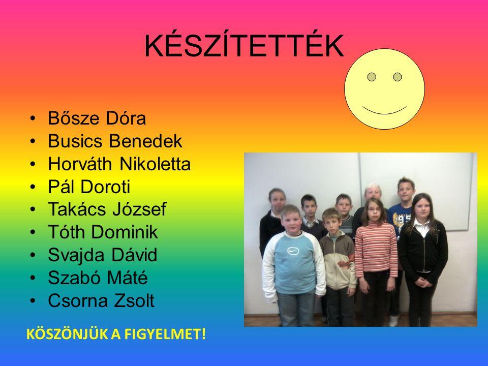 KÖSZÖNJÜK •A•A Körmendi Kulturális Központ és Faludi Ferenc Könyvtárnak •M•Meghívott előadóknak •A•Az iskola vezetésének •A•Az évfolyamon tanító, proj