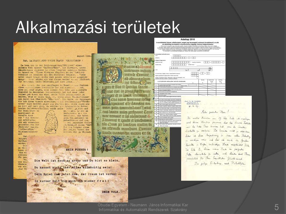 Input képek 6 http://www.iam.unibe.ch/fki/databases/iam-handwriting-database