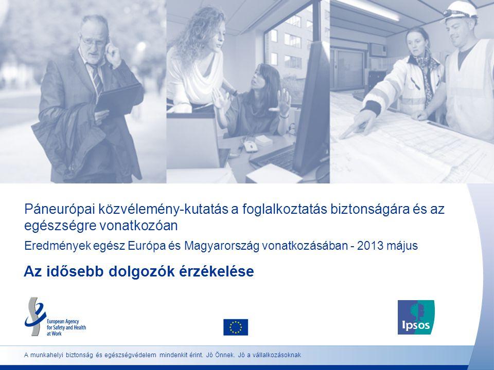 Páneurópai közvélemény-kutatás a foglalkoztatás biztonságára és az egészségre vonatkozóan Eredmények egész Európa és Magyarország vonatkozásában - 201