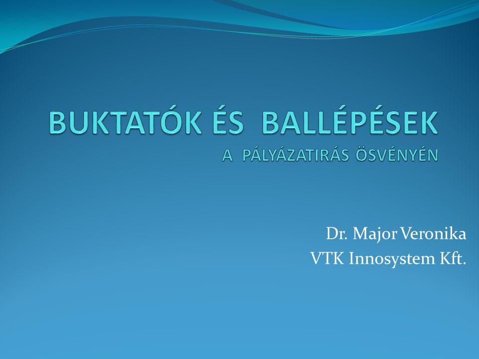 Dr. Major Veronika VTK Innosystem Kft.