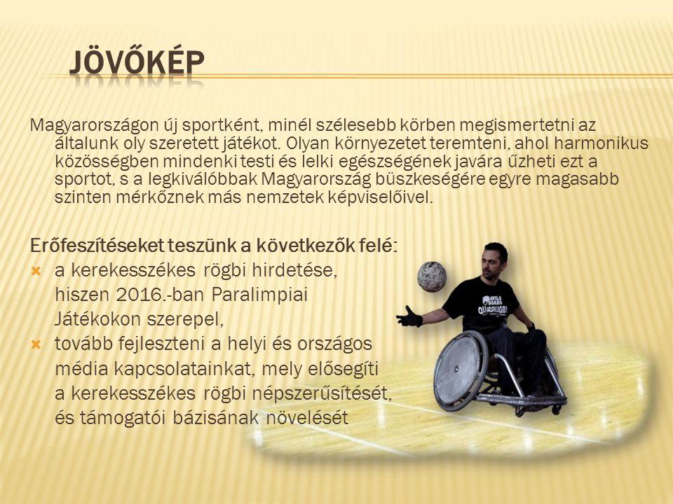 Magyarországon új sportként, minél szélesebb körben megismertetni az általunk oly szeretett játékot.