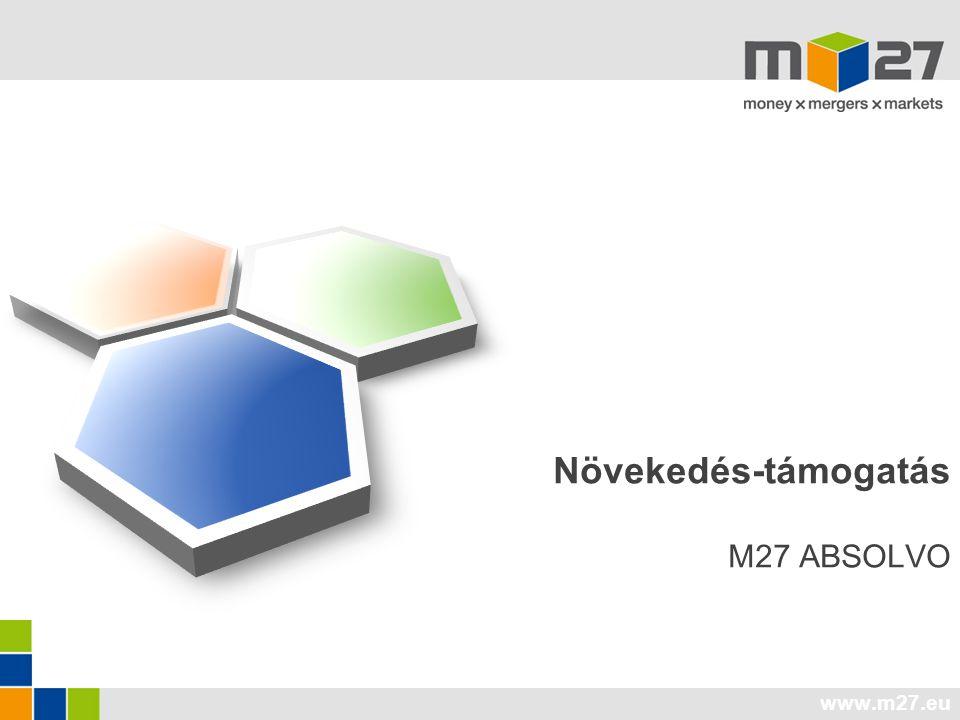 www.m27.eu Növekedés-támogatás M27 ABSOLVO