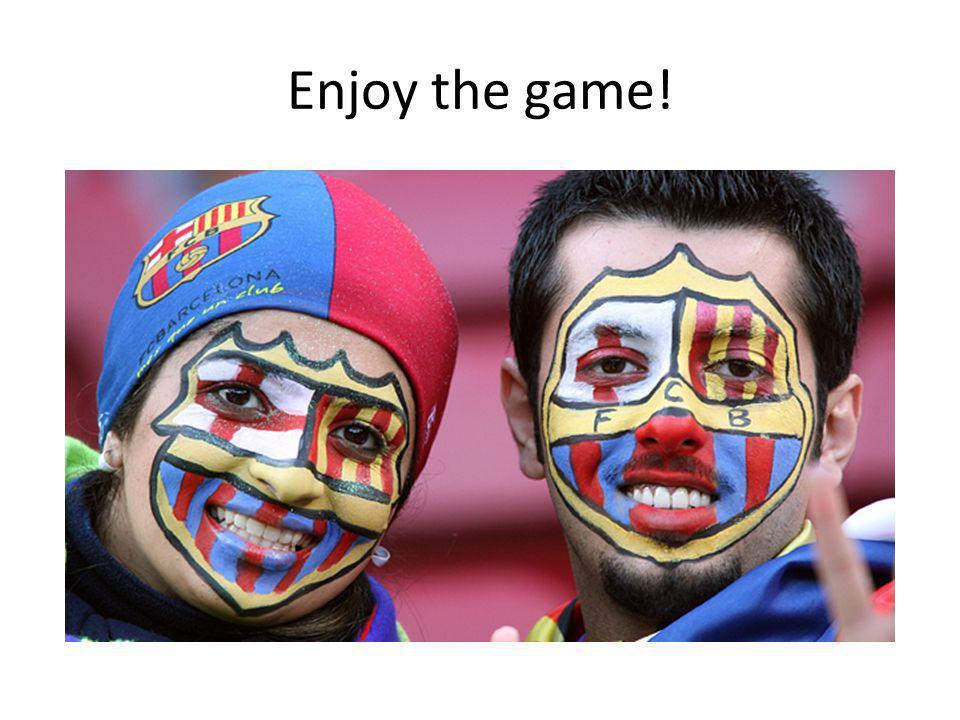 Enjoy the game!
