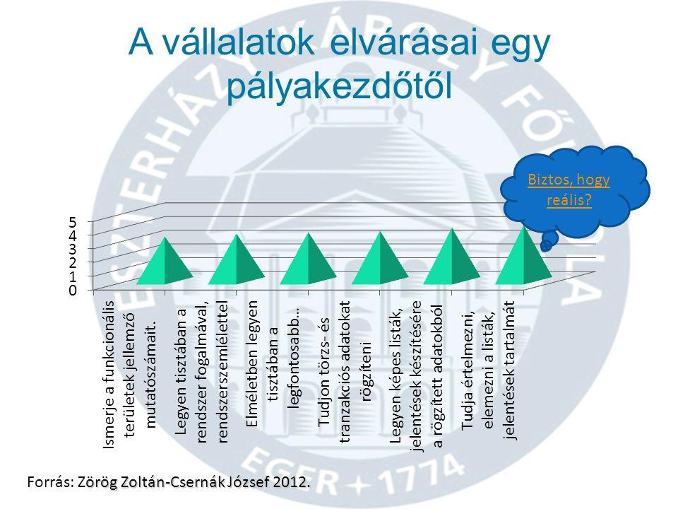 Az ERP rendszerekhez közvetlenül nem köthető tantárgyak gyakorlatorientált oktatásának nehézségei örög Zoltán-Csernák József 2012.