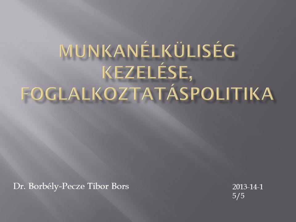 Dr. Borbély-Pecze Tibor Bors 2013-14-1 5/5