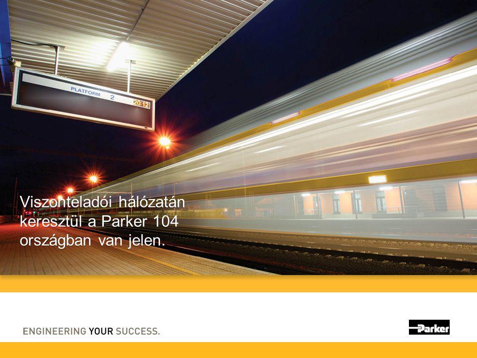 Viszonteladói hálózatán keresztül a Parker 104 országban van jelen.