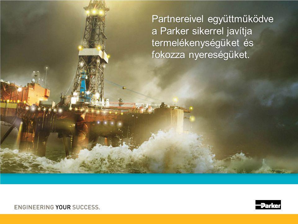 Partnereivel együttműködve a Parker sikerrel javítja termelékenységüket és fokozza nyereségüket.