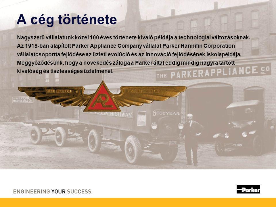 A cég története Nagyszerű vállalatunk közel 100 éves története kiváló példája a technológiai változásoknak.