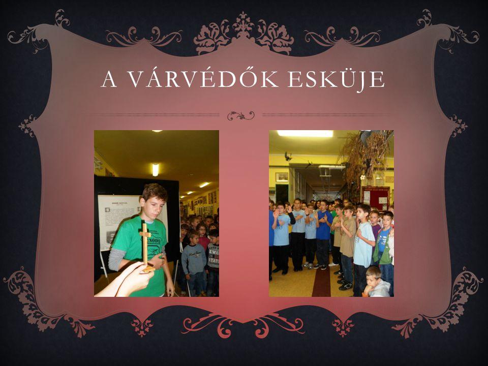A kiállítást november 13-ig tekinthették meg a diákok.