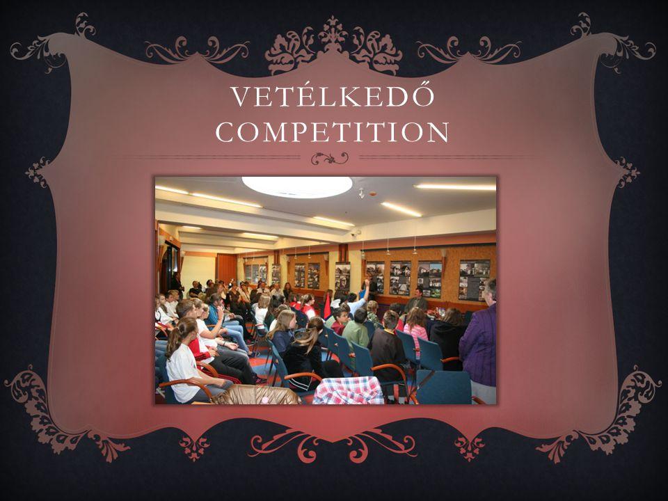 VETÉLKEDŐ COMPETITION