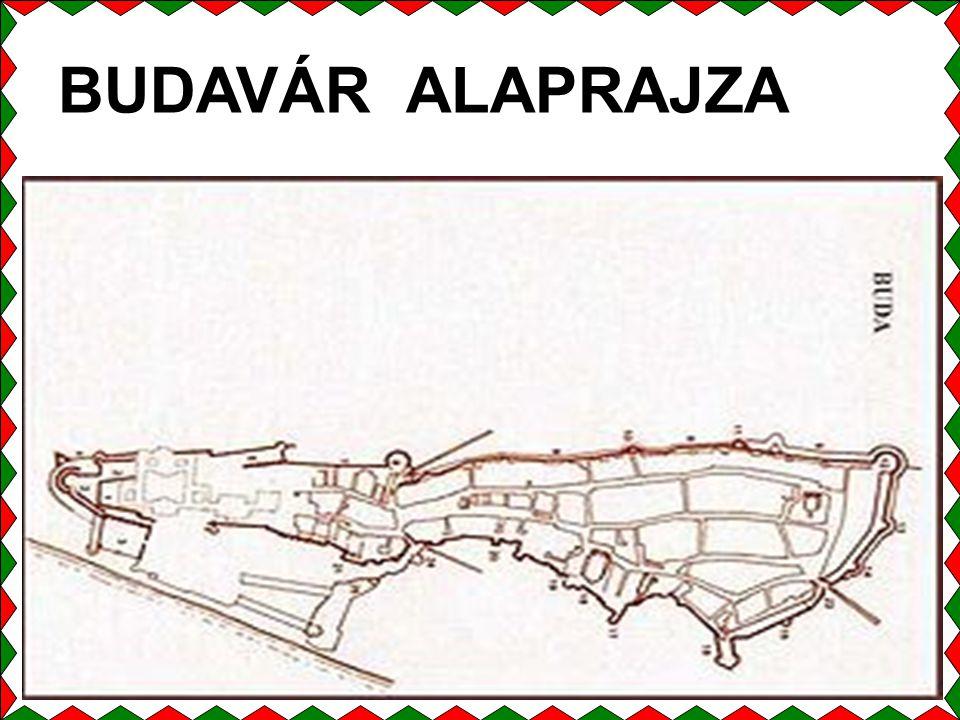 BUDAVÁR ALAPRAJZA