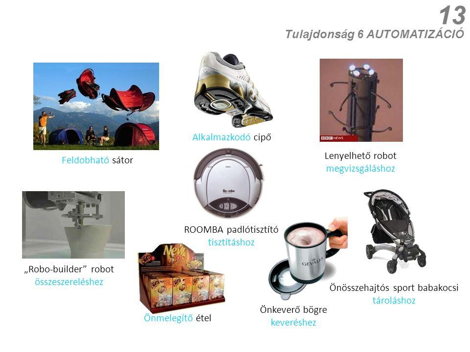"""13 Önmelegítő étel Feldobható sátor """"Robo-builder"""" robot összeszereléshez ROOMBA padlótisztító tisztításhoz Tulajdonság 6 AUTOMATIZÁCIÓ Alkalmazkodó c"""