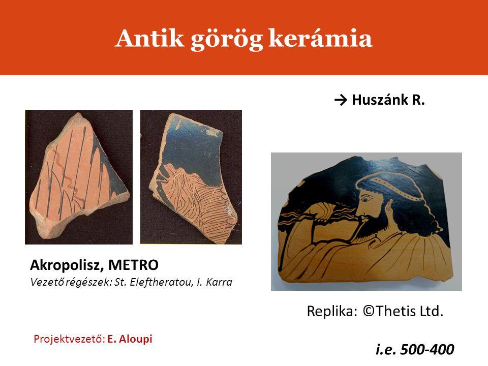 Antik görög kerámia i.e.500-400 Replika: ©Thetis Ltd.