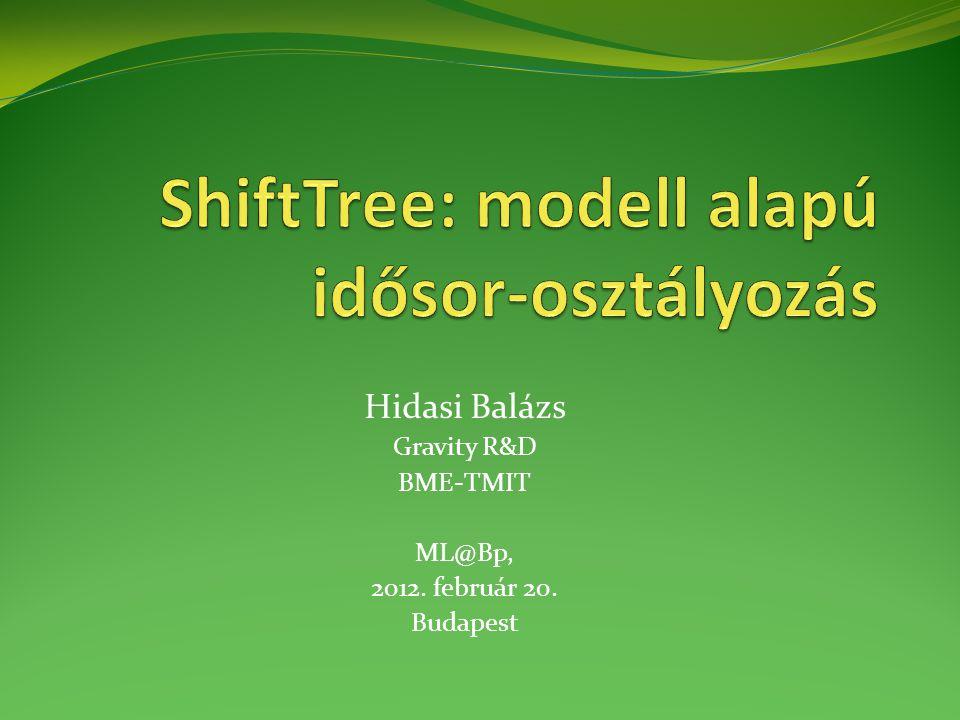 Hidasi Balázs Gravity R&D BME-TMIT ML@Bp, 2012. február 20. Budapest