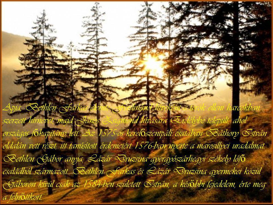 Bethlen Gábor ő seinek, a Neczpáli családnak Békés és Zaránd vármegyében voltak birtokai. A Bethlen család el ő nevét adó Temes vármegyei Iktárt valós