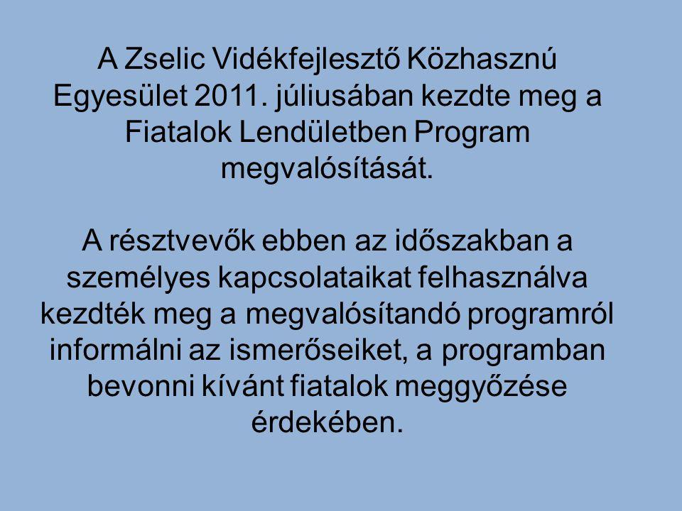 A Zselic Vidékfejlesztő Közhasznú Egyesület 2011.