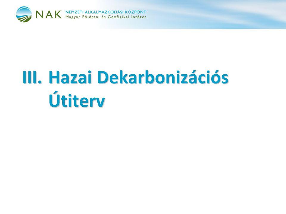 III.Hazai Dekarbonizációs Útiterv