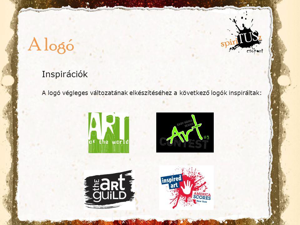 Inspirációk A logó végleges változatának elkészítéséhez a következő logók inspiráltak: A logó
