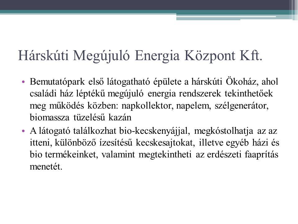 Hárskúti Megújuló Energia Központ Kft.