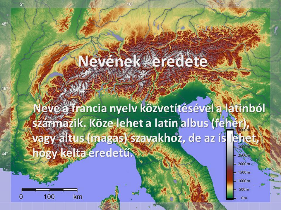 Nevének eredete Nevének eredete Neve a francia nyelv közvetítésével a latinból származik.