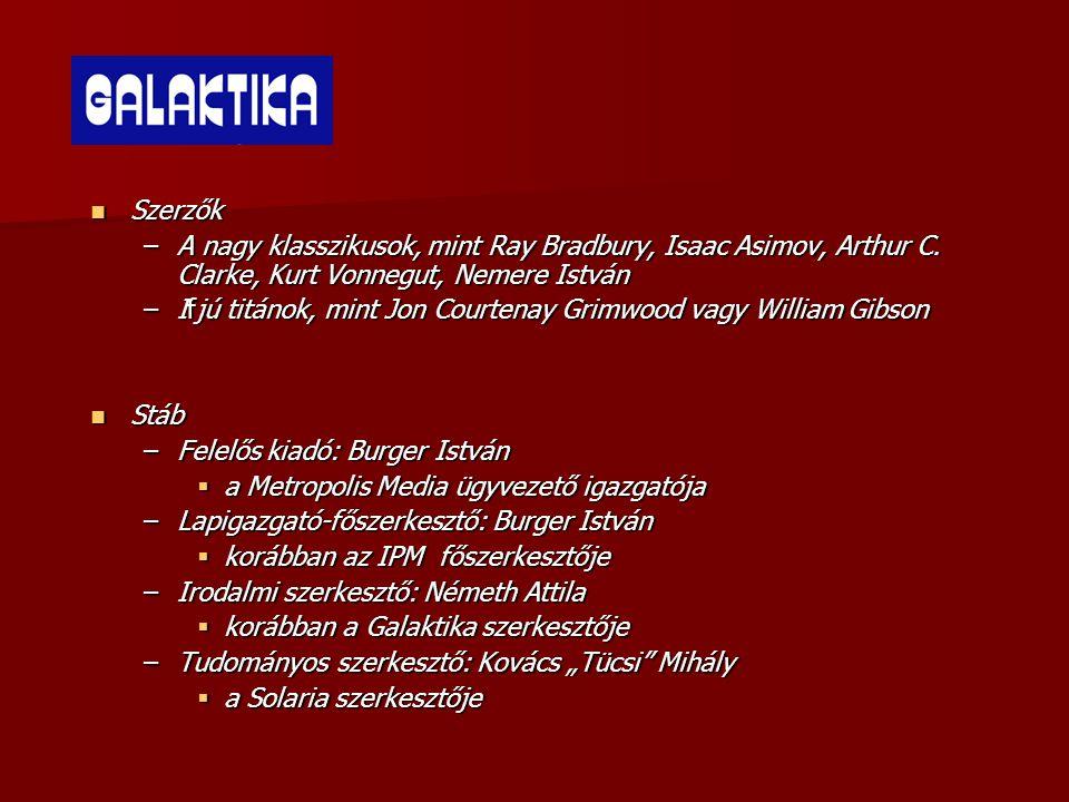 Szerzők –A nagy klasszikusok, mint Ray Bradbury, Isaac Asimov, Arthur C.