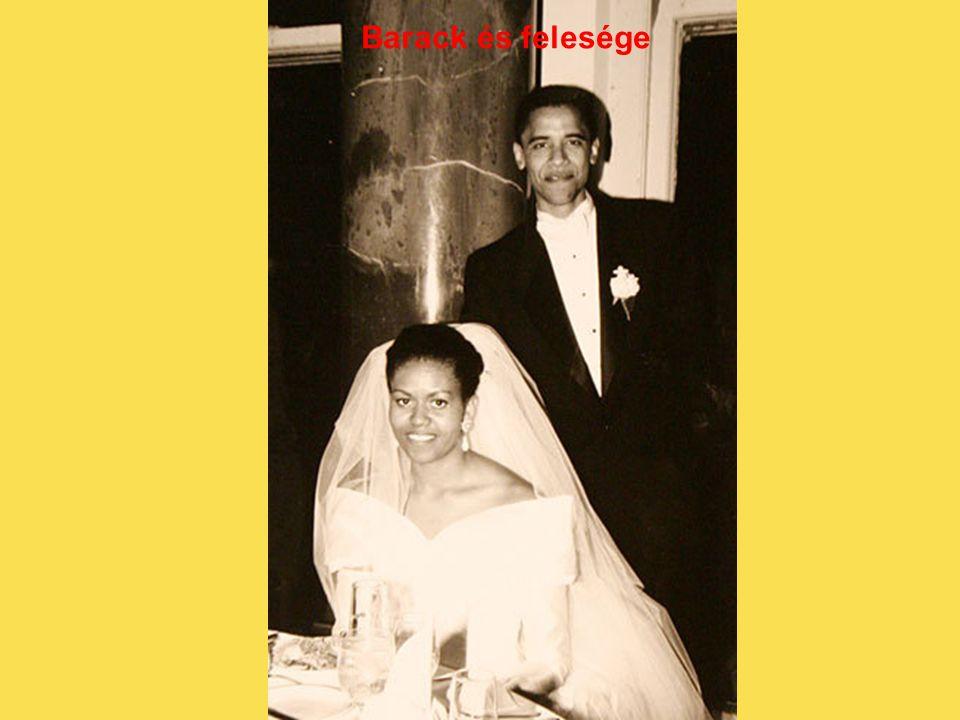 Barack és felesége