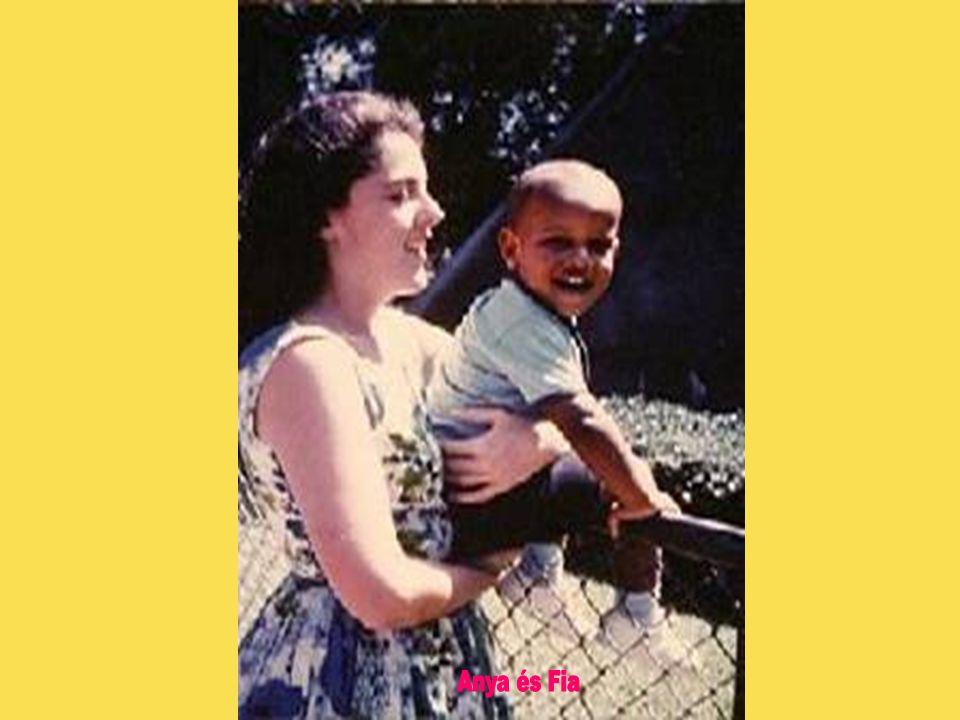 Feleségét, Michelle Robinson Obamát, egy chicagói ügyvédi irodánál töltött nyári gyakorlat során ismerte meg 1989-ben, 1992.