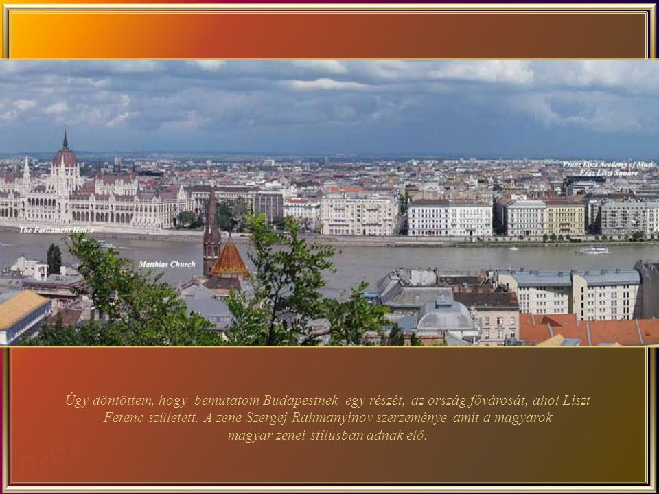 Budapest - 2. – A Duna jobb partja