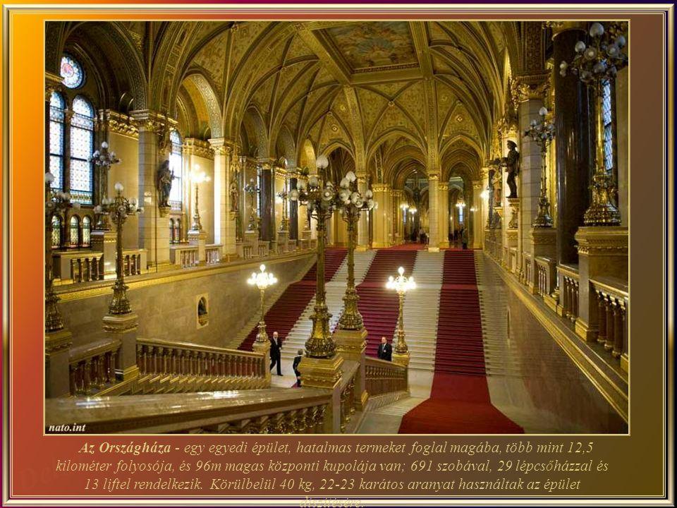 Az Országgy ű lés ülése1902 óta az Országházban zajlik le.