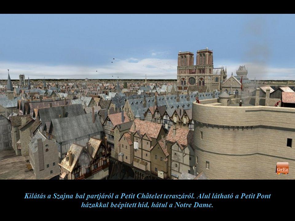 A középkorban a hidakon lakóépületek álltak, a gyalogosok mikor átmentek az egyik partról a másikra észre sem vették, hogy a Szajna felett gyalogoltak