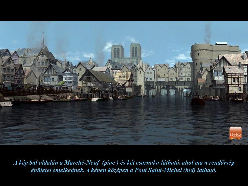 A középkorban, a Hotel Dieu kórházban már 500 ágy állt betegek rendelkezésére, de ebben az időben egy-egy ágyon három-négy beteg osztozott. A háttérbe