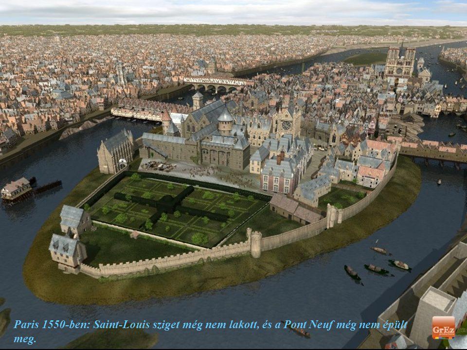 A tizennegyedik században Párizs 200.000 lakossal már egy sűrűn lakott város, ahol épületek, hidak sorakoznak, és közel száz torony mutat az ég felé.