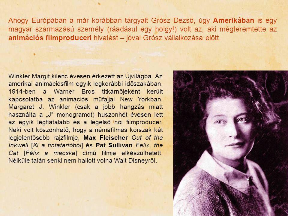 Ahogy Európában a már korábban tárgyalt Grósz Dezső, úgy Amerikában is egy magyar származású személy (ráadásul egy hölgy!) volt az, aki megteremtette