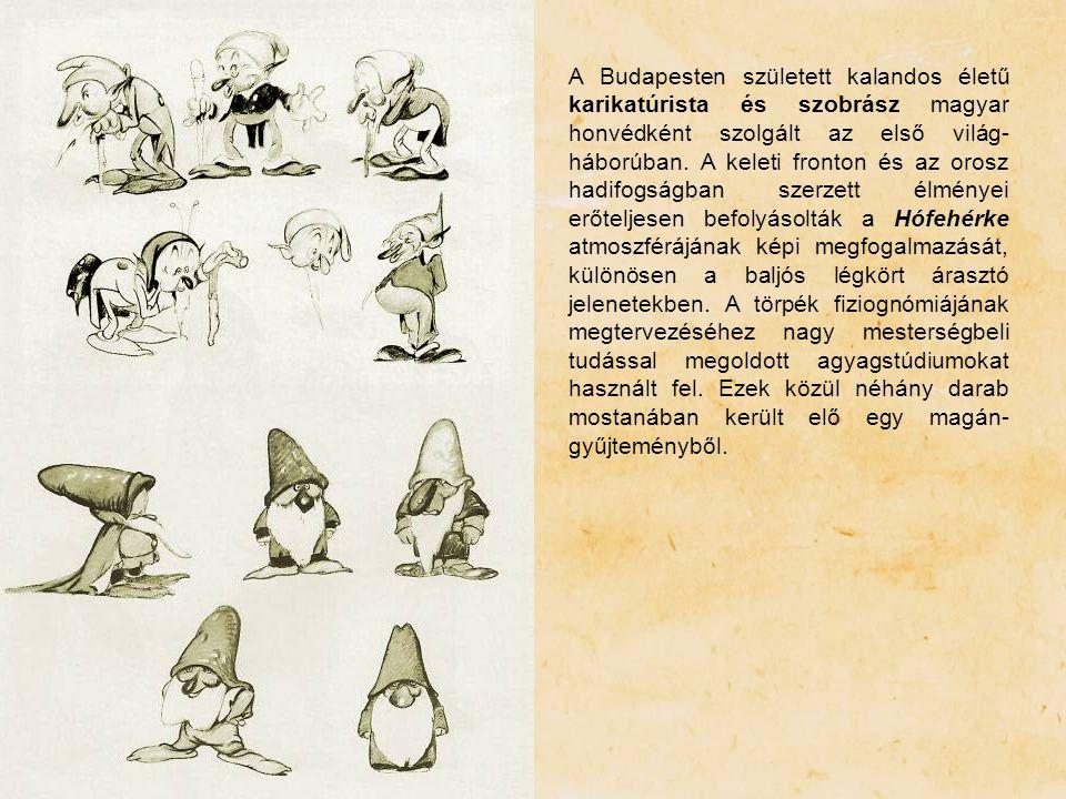 A Budapesten született kalandos életű karikatúrista és szobrász magyar honvédként szolgált az első világ- háborúban. A keleti fronton és az orosz hadi