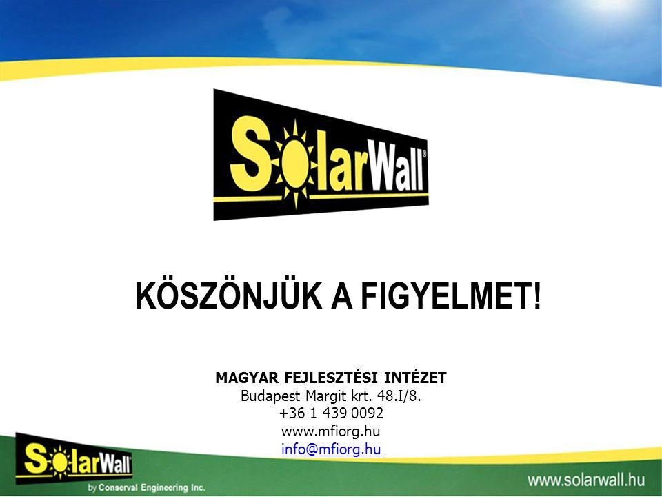 MAGYAR FEJLESZTÉSI INTÉZET Budapest Margit krt. 48.I/8. +36 1 439 0092 www.mfiorg.hu info@mfiorg.hu KÖSZÖNJÜK A FIGYELMET!