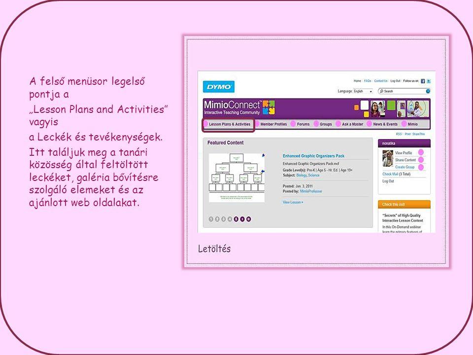 Csoportot egyébként bármely regisztrál felhasználó létrehozhat a saját profilablakában lévő harmadik menüpontnál.